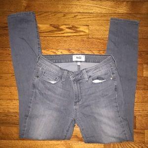 Gray Paige jeans